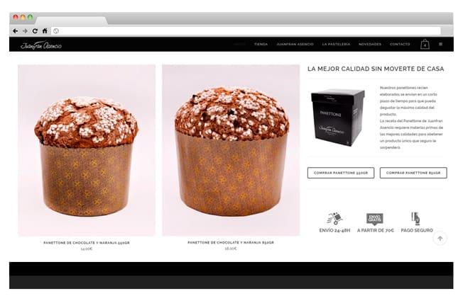 tienda online Juanfran Asencio