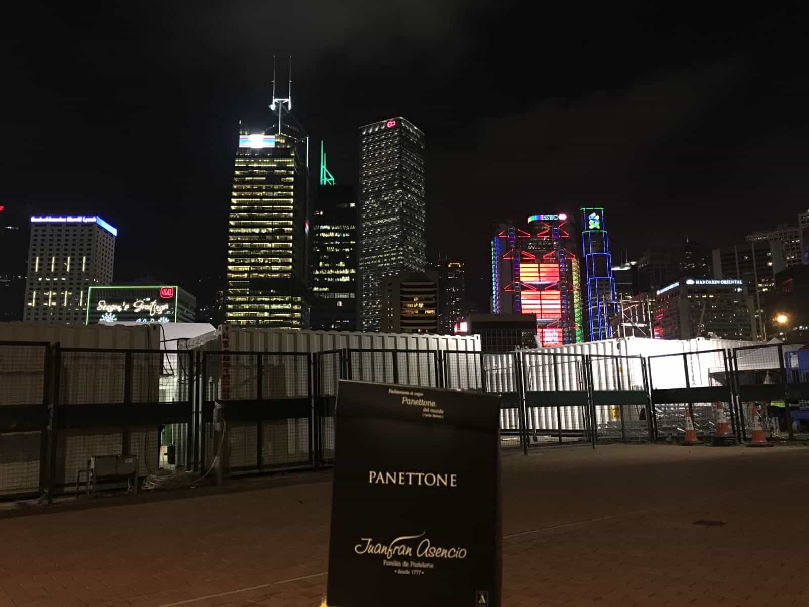 Panettone en Hong Kong