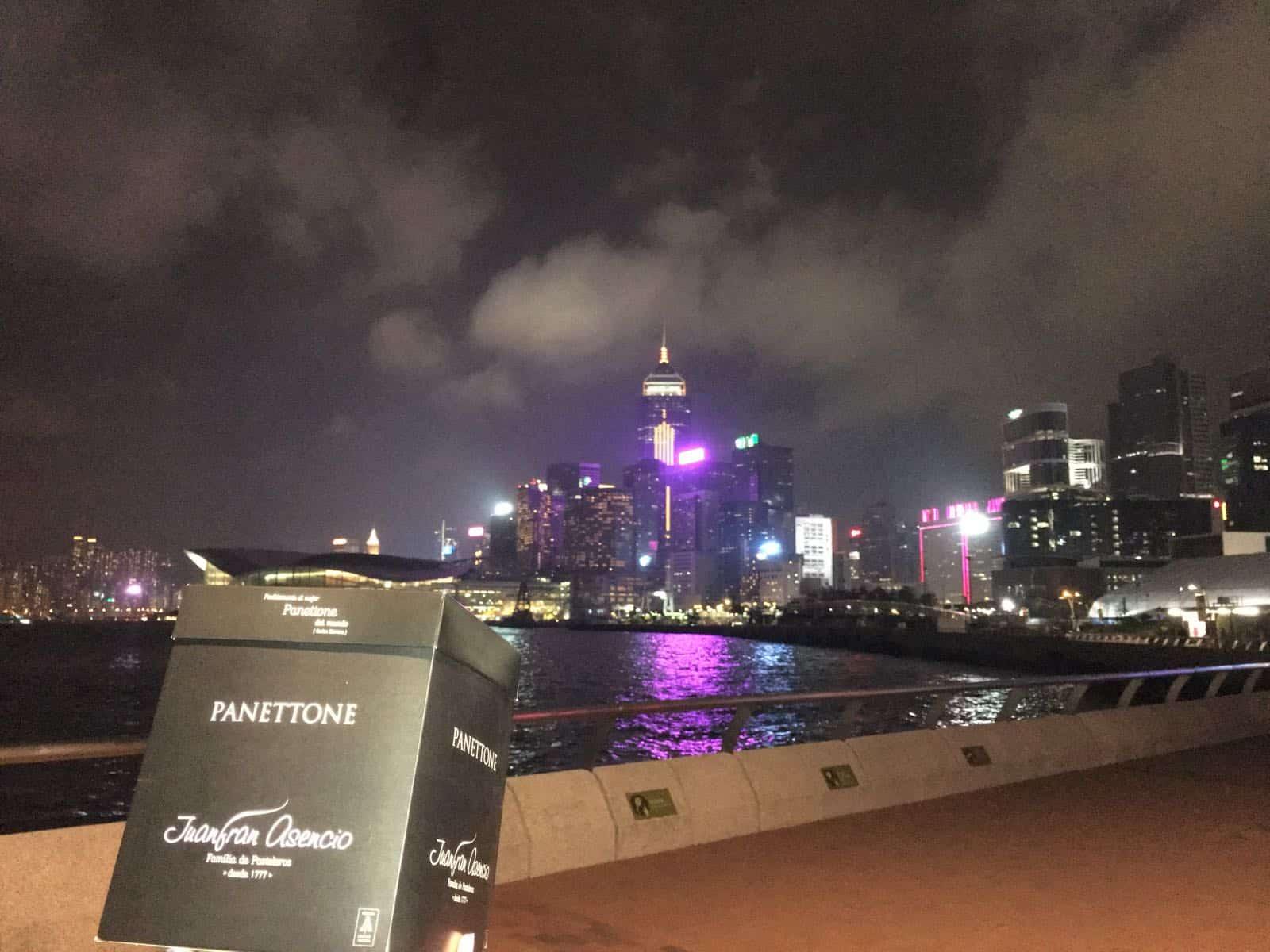 Panettone en Hong Kong Asencio