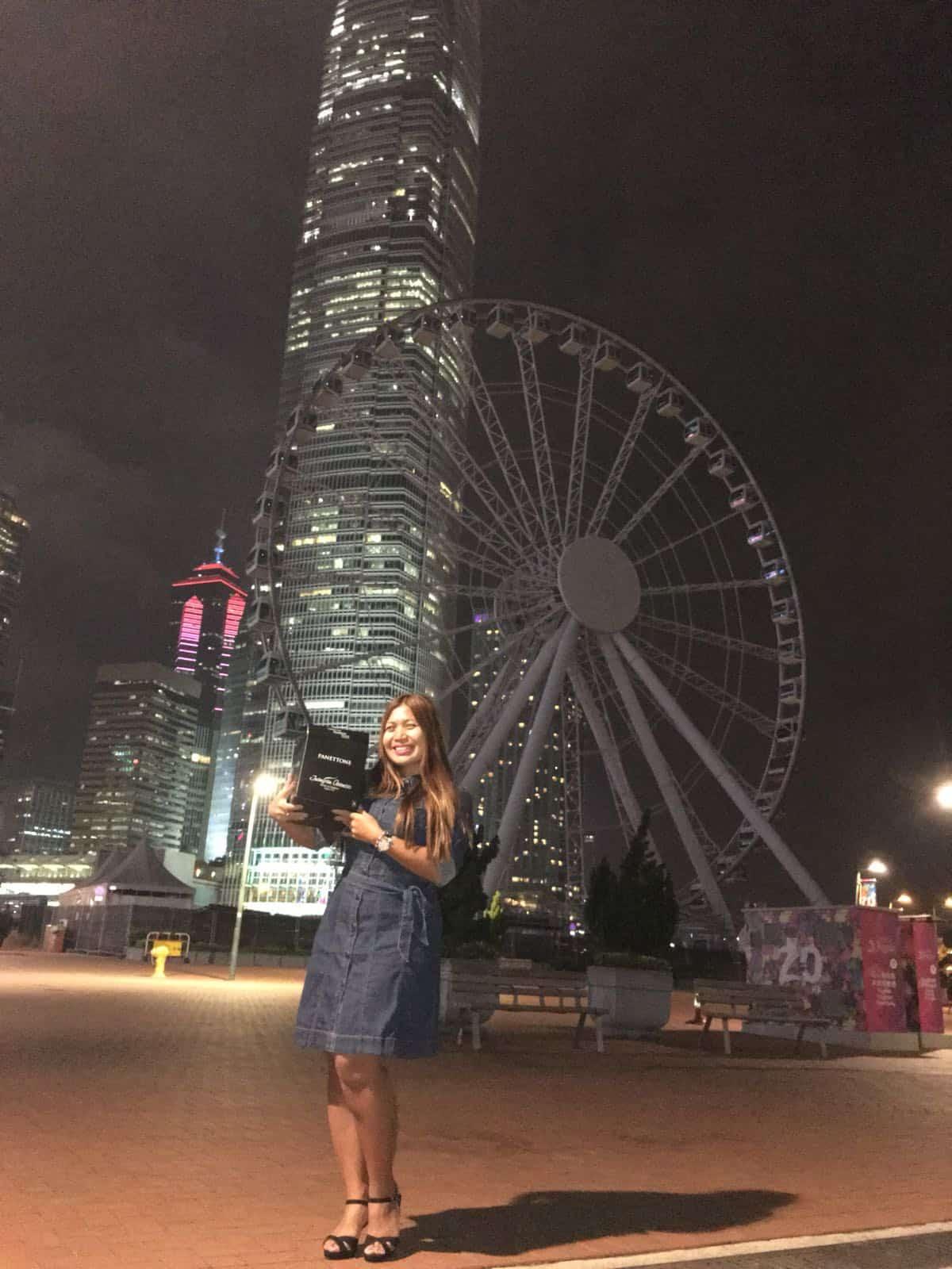 Panettone Asencio en Hong Kong