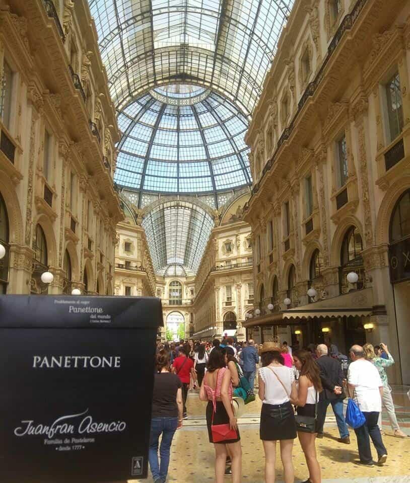 PAneton en Milan