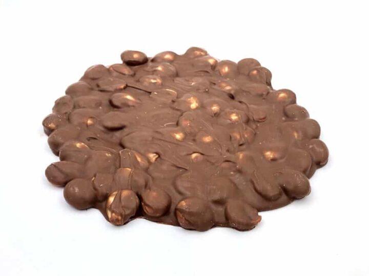 Torta de almendras y chocolate con leche