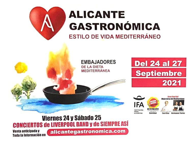 Feria Gastronómica Alicante 2021